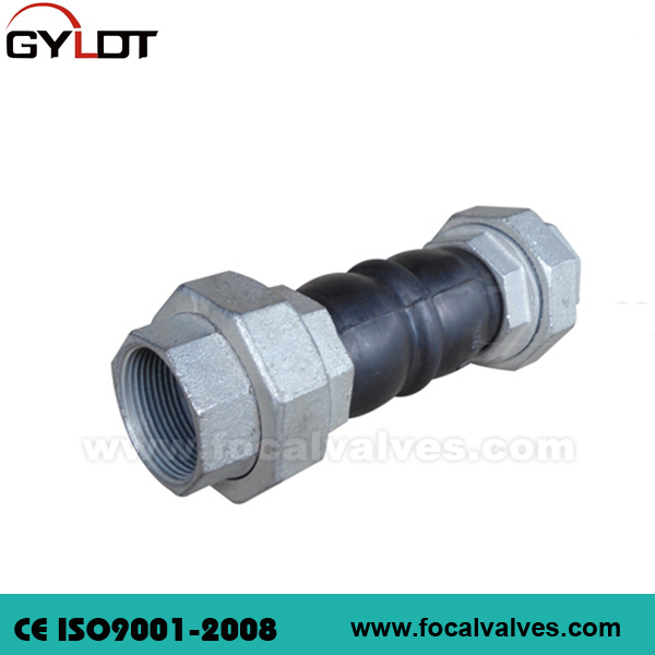 Threaded Union Rubber Joint Rubber Expansion Joint